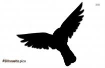 Songbird Clipart Silhouette Icon