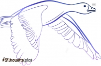 Flying Bird Silhouette Png