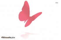 Butterfly Vector Silhouette Free Vector Art