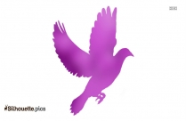 Flying Dove Clipart Silhouette