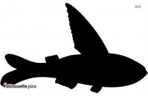 Perch Bird Vector Silhouette