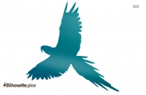 Free Small Bird Flying Silhouette