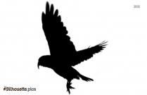 Sea Gull Flying Silhouette