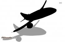 Flying Plane Silhouette