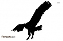 Tribal Hummingbird Silhouette Image