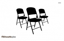 Cartoon Outdoor Chair Silhouette