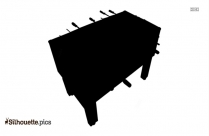 Foosball Tables Silhouette Icon