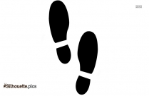 Mouse Paw Print Silhouette Image And Vector