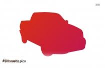 Cartoon Car Symbol Silhouette