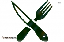 Knives And Forks Clipart || Forks Fork Picture Silhouette