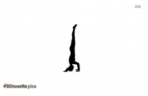 Yoga Pose Silhouette Illustration Picture