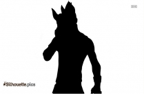 Alien Warrior Silhouette