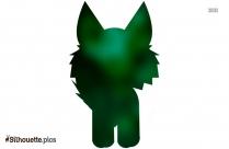 Fox Doll Silhouette Icon