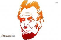 Free Abe Lincoln Illustration Silhouette