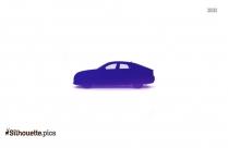 Racing Beetle Silhouette Drawing