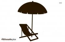 Vintage Umbrella Silhouette Clipart