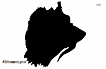 Big Fish Silhouette Vector Image