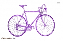 Bicycle Silhouette Illustration Image
