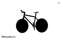 Bicycle Silhouette Art