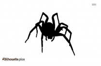 Wolf Spider Silhouette Clipart