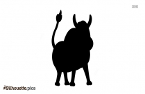 Cartoon Farm Animal Silhouette Art