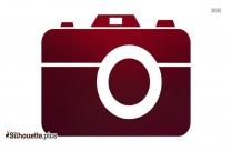 Digital Camera Silhouette Vector