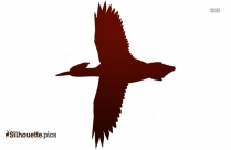 Cartoon Birds Flying Silhouette Vector And Graphics