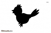 Cartoon Bird Silhouette Clip Art