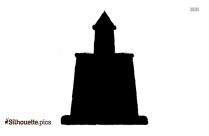 Free Cartoon Church Silhouette