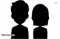 Free Cartoon Couple Silhouette