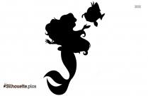 Mermaid Silhouette Illustration