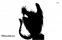Free Cartoon Monster Silhouette