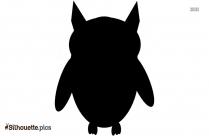 Free Cartoon Owl Drawing Silhouette