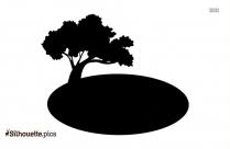 Free Tree Drawing Silhouette
