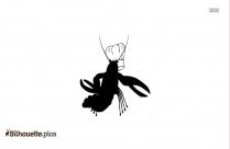 Shrimp Clipart Silhouette Image