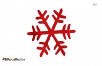 Free Christmas Snowflake Silhouette