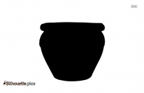 Pottery Silhouette Free Vector Art