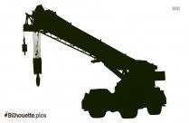 Construction Crane Silhouette Clipart