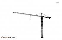 Japanese Crane Dance Silhouette Clip Art