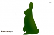 Cartoon Bunny Drawing Silhouette