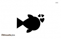 Sea Lion Silhouette Art