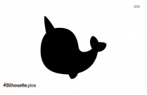 Beluga Whale Silhouette Art