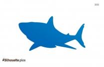 Cartoon Shark Silhouette Image And Vector