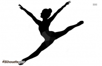 Free Dance Jump Silhouette