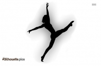 dance pose silhouette image