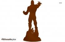 Darkseid Silhouette Illustration