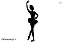 Princess Ballerina Pose Magical Girl Silhouette
