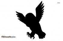 Cute Owl Logo Silhouette For Download