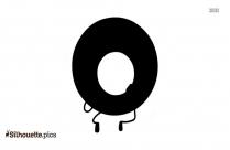 Cartoon Pancakes Silhouette