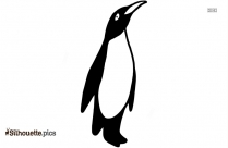 African Penguin Clipart Image Of Silhouette
